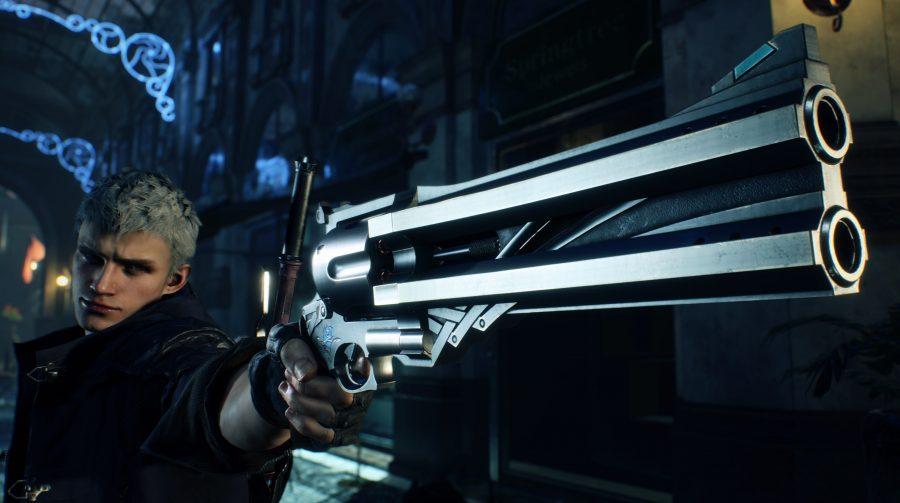 Nero e Dante em novas telas incríveis de Devil May Cry 5