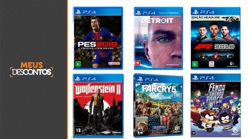 Dia do Gamer! Saraiva oferece cupom e descontos em jogos de PS4