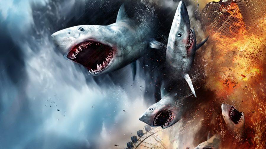No olho do furação: Sharknado terá game de realidade virtual