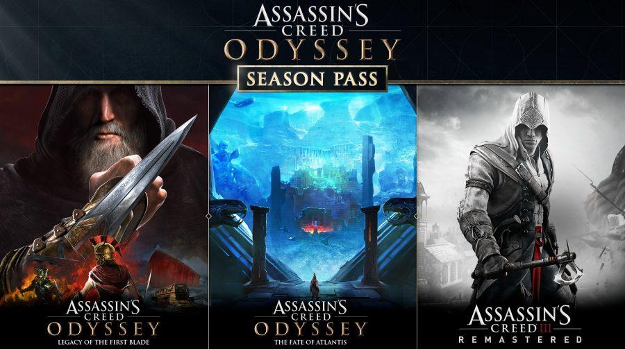 Season Pass de AC Odyssey vai contar com remasteres de Assassins Creed 3 e Liberation