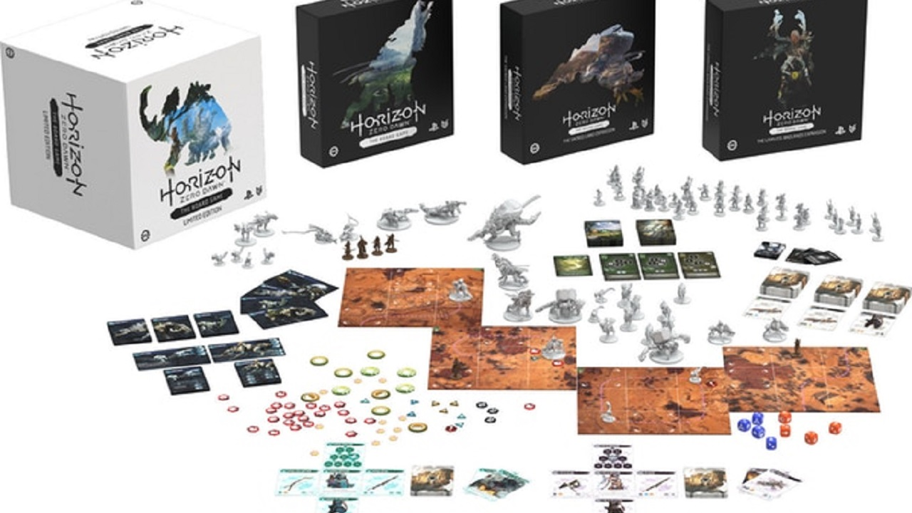 Sucesso Absoluto! Board Game de Horizon: Zero Dawn bate meta