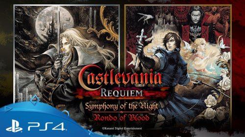 Castlevania Requiem é baseado em uma versão melhorada do PSP