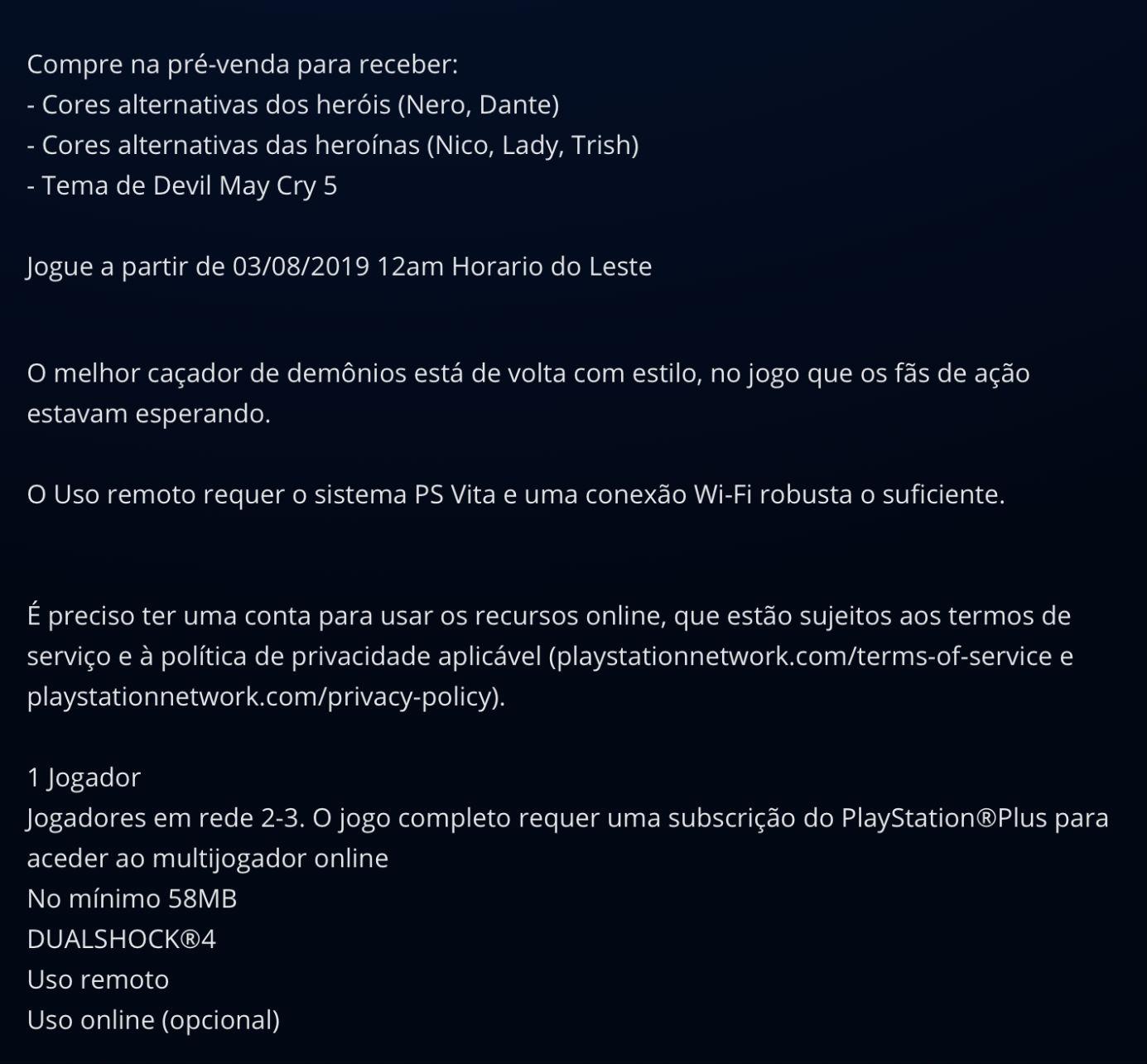 Devil May Cry 5 pode contar com multiplayer online para até três jogadores 1