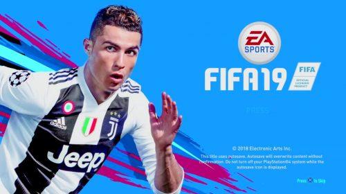 Vendas do FIFA 19 estão abaixo das do FIFA 18