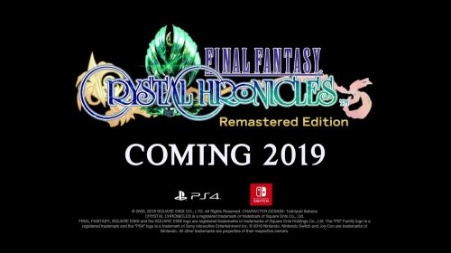 Square Enix anuncia Final Fantasy Crystal Chronicles: Remastered Edition