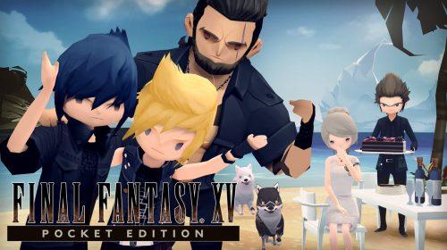 [Rumor] Final Fantasy XV: Pocket Edition HD listado para o PS4