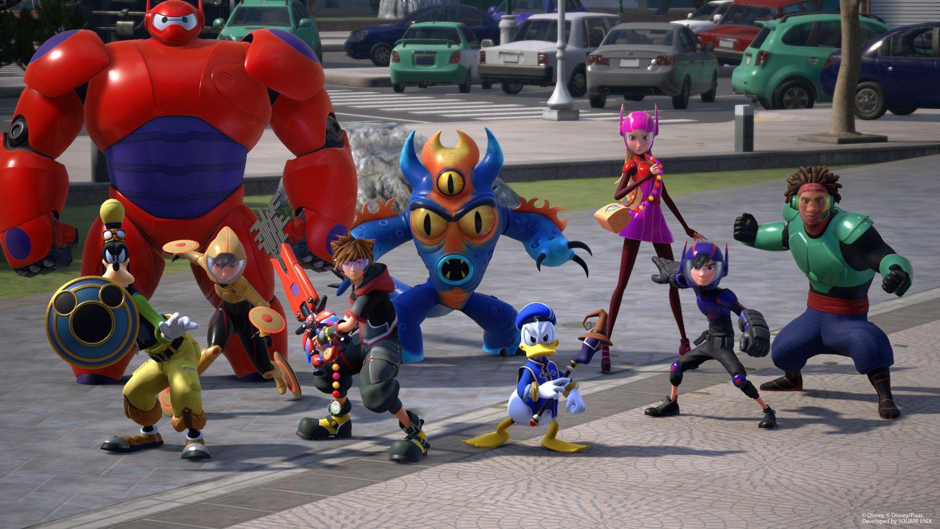 Kingdom Hearts 3 ganha novo trailer e linda capa; confira 2