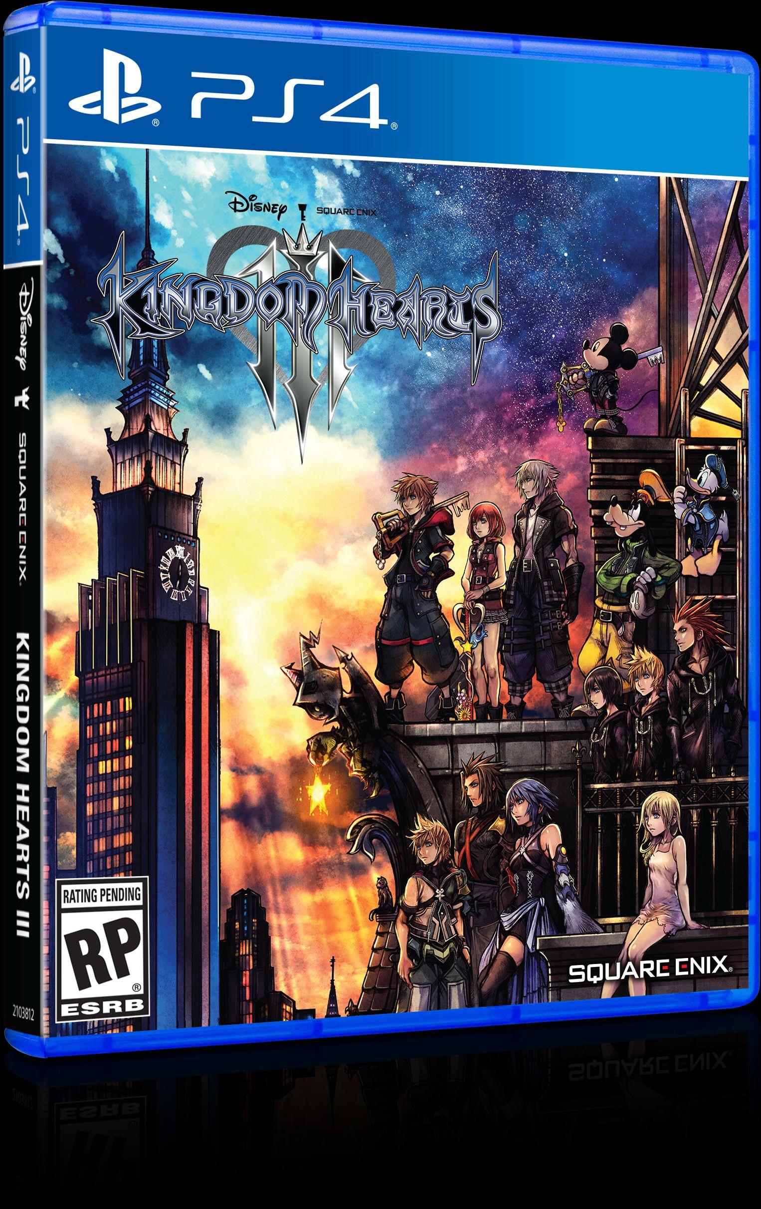 Kingdom Hearts 3 ganha novo trailer e linda capa; confira 1