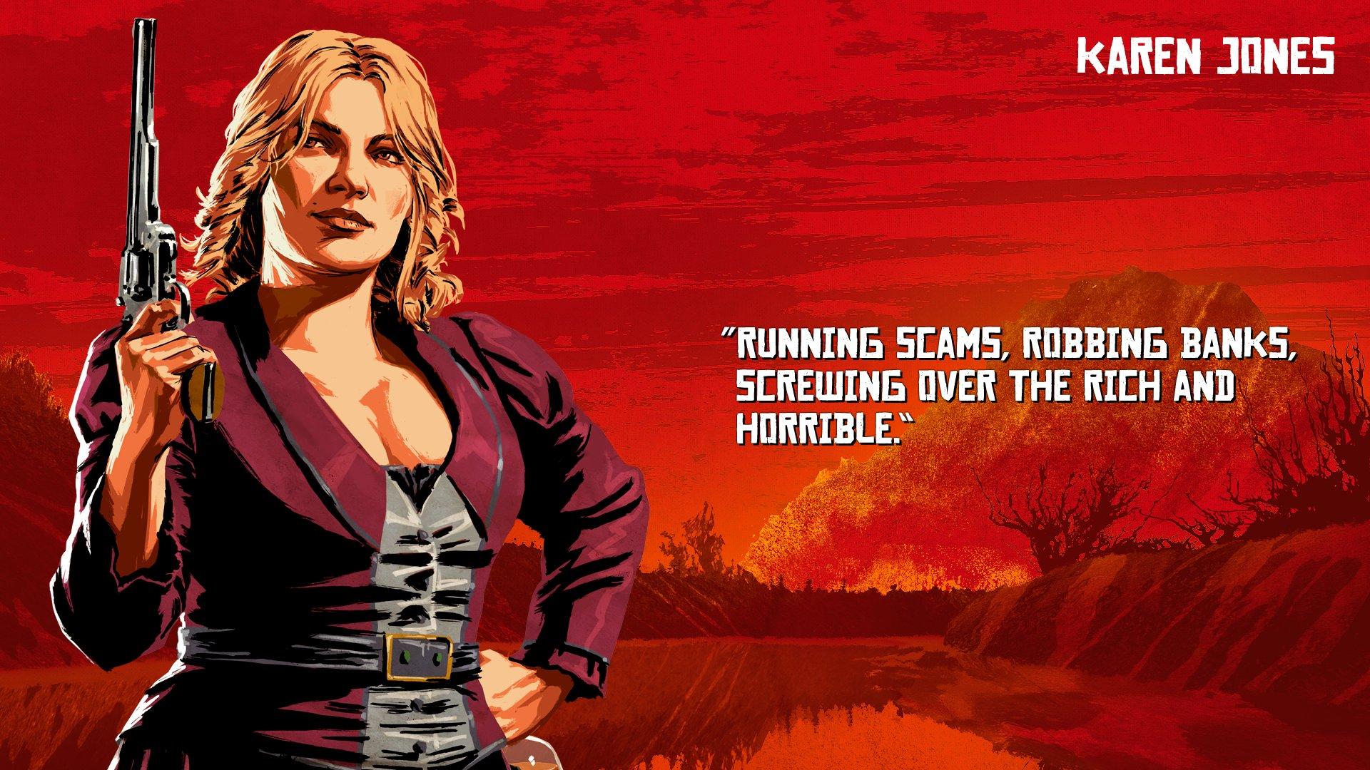 Rockstar Games revela artes dos personagens de Red Dead Redemption 2; veja 2