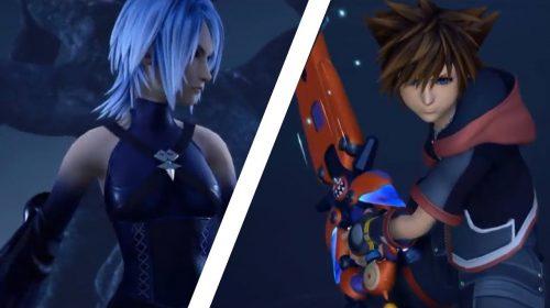 Square Enix mostra luta entre Sora vs. Aqua em Kingdom Hearts 3; veja