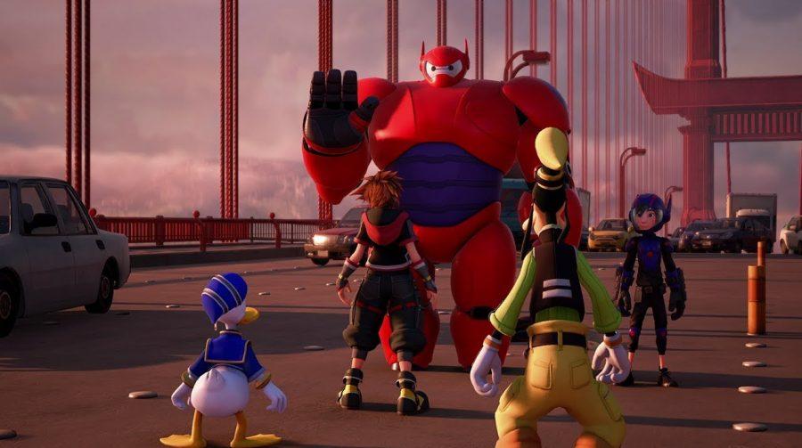 Elenco original de Operação Big Hero estará em Kingdom Hearts 3