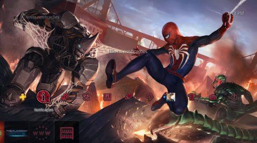 Pegue o seu! Sony oferece tema dinâmico gratuito de Spider-Man