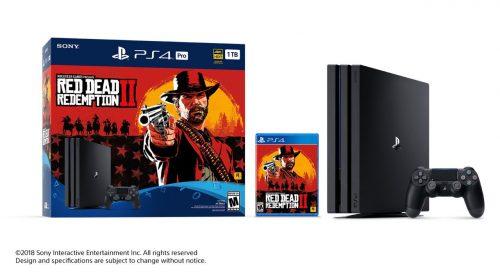 Bundle de Red Dead Redemption 2 é uma nova versão do PS4 Pro