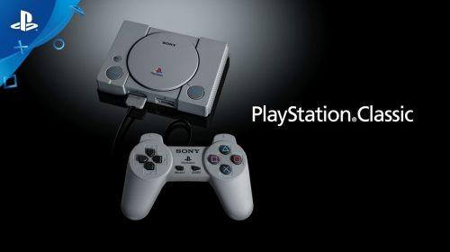 PlayStation Classic já é vendido com 25% de descontos EUA