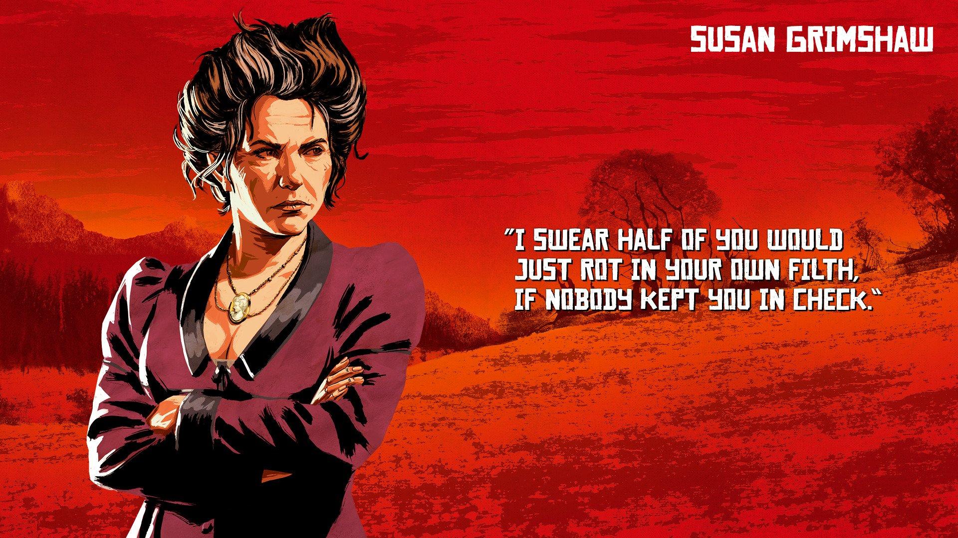 Rockstar Games revela artes dos personagens de Red Dead Redemption 2; veja 14