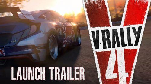 V-Rally 4 recebe trailer de lançamento destacando off-road