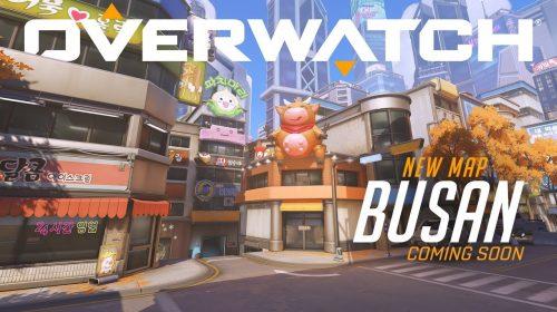 Overwatch recebe mapa de Busan e ajustes para alguns heróis