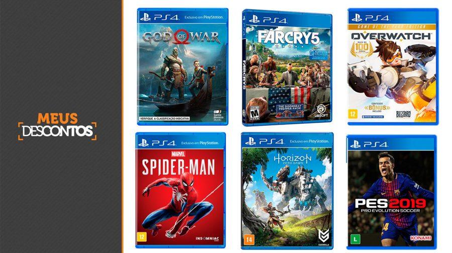 Quer economizar? Submarino oferece especial cupom para jogos de PS4!
