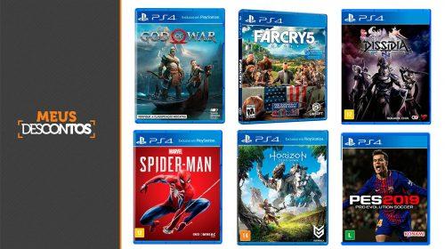 Começando em R$ 20! Semana do cliente oferece jogos de PS4 com descontos