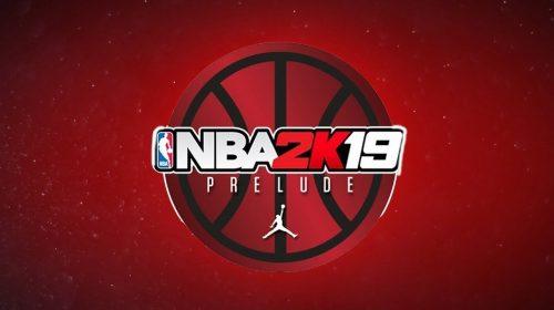 NBA 2K19: The Prelude disponível gratuitamente na PS Store; baixe agora