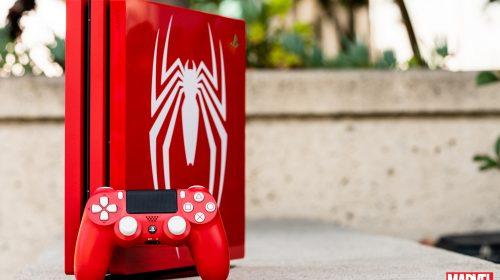 PS4 Pro limitado de Spider-Man vai fazer você jogar dinheiro na tela