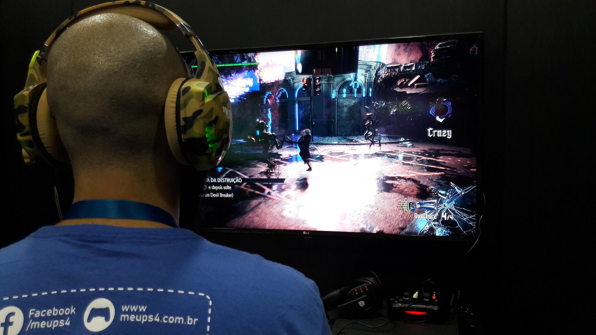 [BGS 2018] Devil May Cry 5 traz combates frenéticos e cenários infernais 1