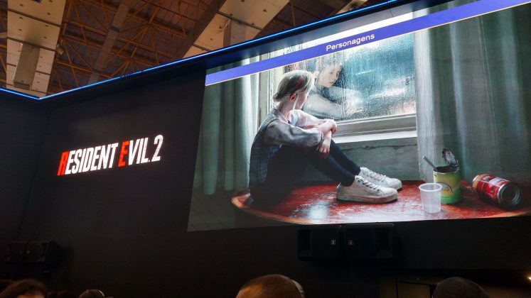 [BGS 2018] Gameplay inédito de Resident Evil 2, direto do stand da PlayStation 3