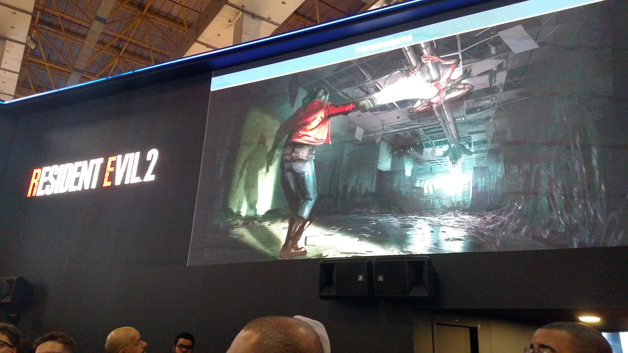 [BGS 2018] Gameplay inédito de Resident Evil 2, direto do stand da PlayStation 6