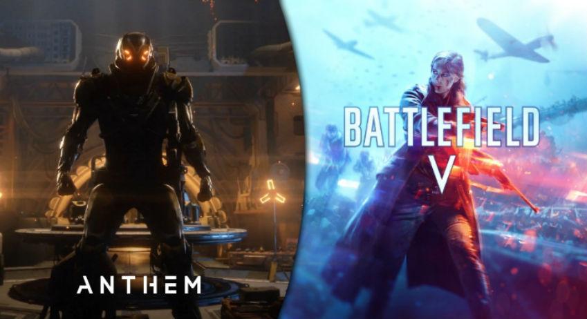 EA está confiante no sucesso de Battlefield V e Anthem; veja