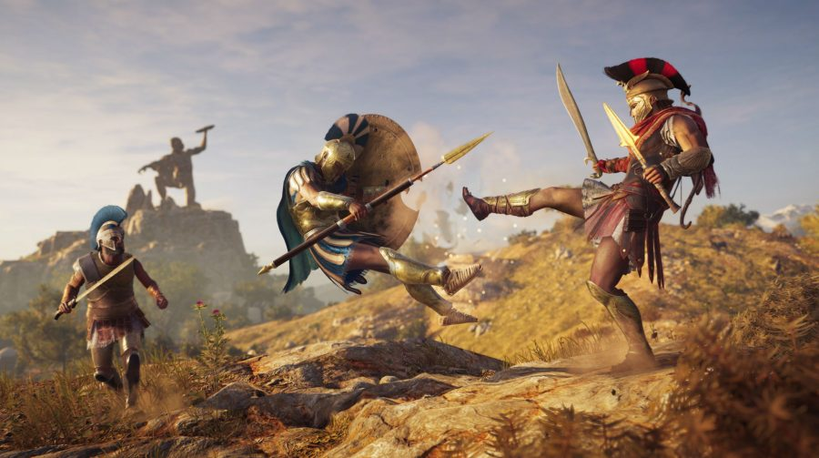 Assassin's Creed Odyssey recebe update para rodar a 60 FPS no PlayStation 5