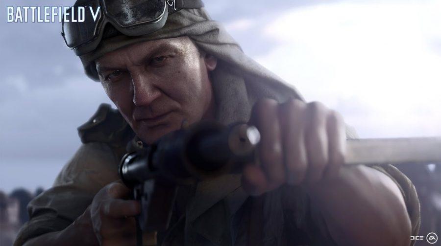 Battlefield V: Patch Day One possui 139 páginas de descrição