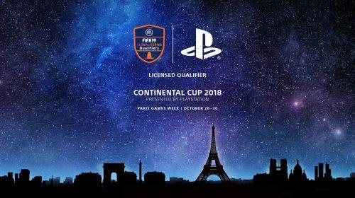 PlayStation e EA anunciam Copa Continental 2018 de FIFA 19