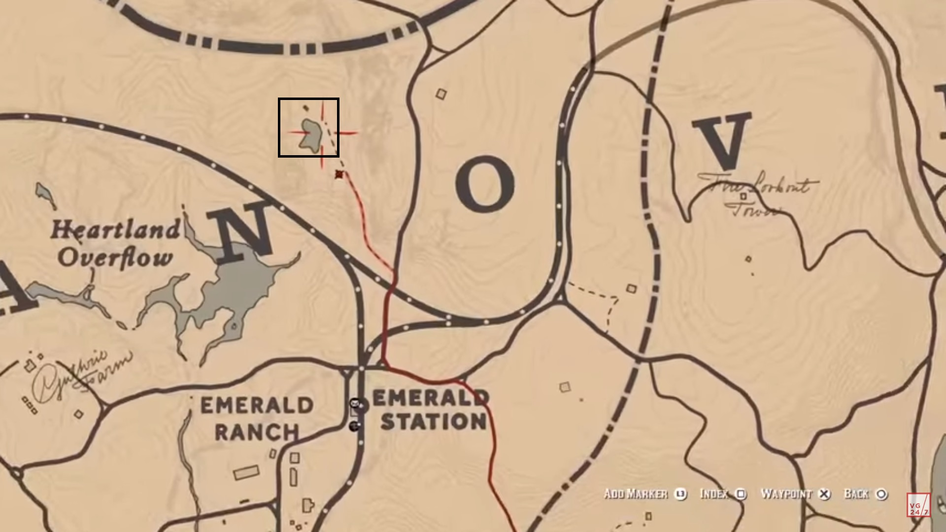 Segredos de Red Dead Redemption 2: como encontrar uma nave alien 1