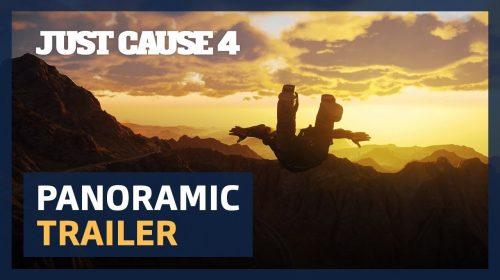 Just Cause 4 ganha impressionante trailer panorâmico em 4K; assista