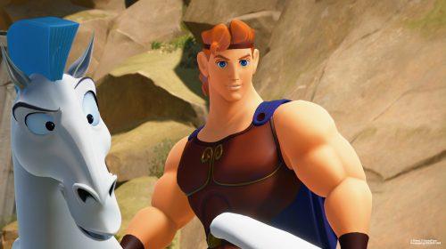 Kingdom Hearts 3: novas imagens destacam o Divino Olimpo; veja
