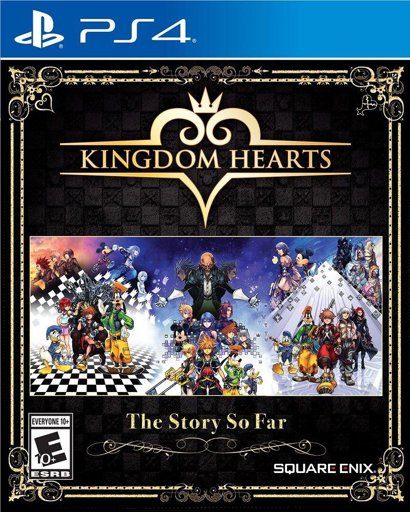 Square anuncia coletânea completa de Kingdom Hearts para PS4; confira 1