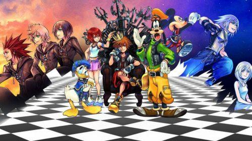 Square anuncia coletânea completa de Kingdom Hearts para PS4; confira