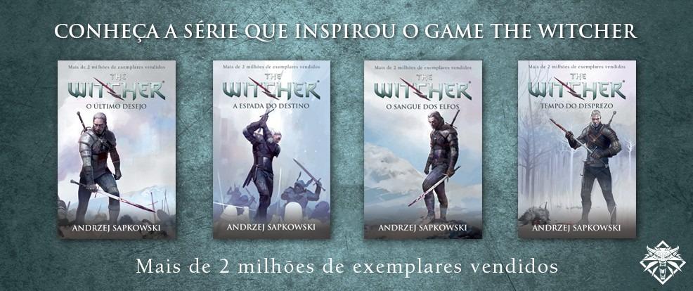 Livros de The Witcher
