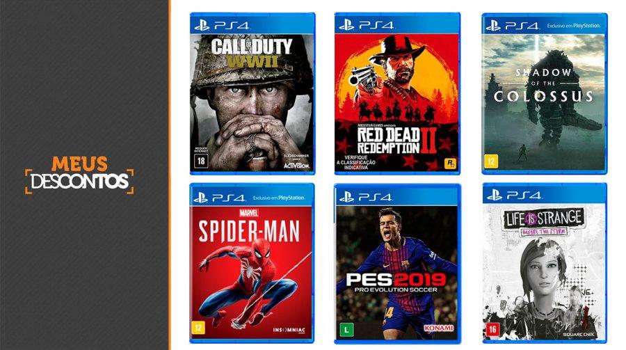 Submarino oferece cupom e ofertas em jogos de PS4 (tempo limitado); aproveite