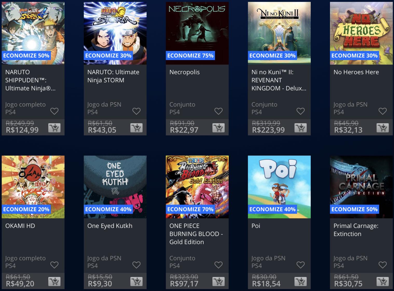 Sony anuncia Promoção do Dia das Crianças na PlayStation Store; veja 12