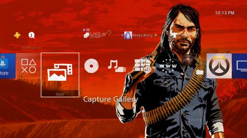 Rockstar lança tema (gratuito) de Red Dead Redemption 2 na PSN
