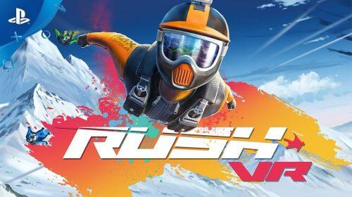 Rush VR, game de esportes radicais, chega para o PlayStation VR