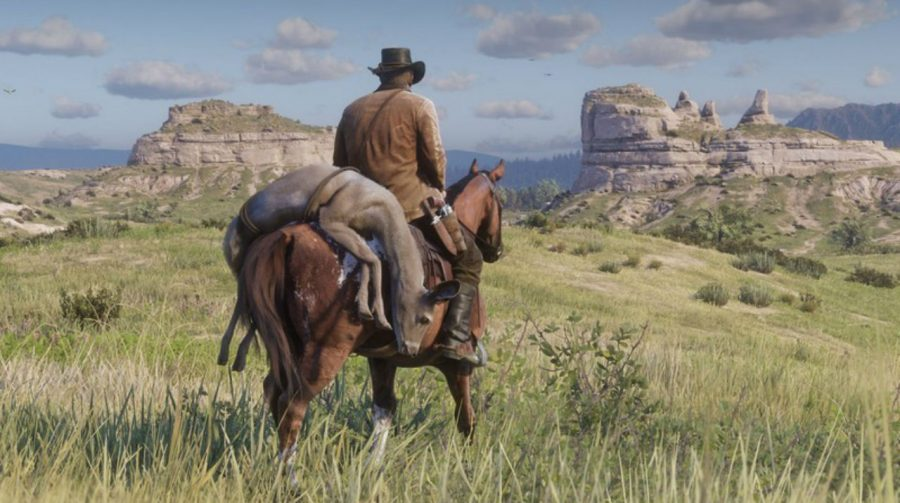 Estúdio de God of War celebra chegada de Red Dead Redemption 2