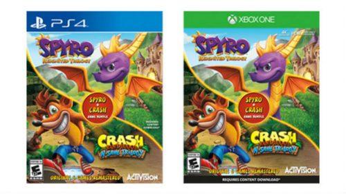 [Rumor] Bundle das trilogias Spyro + Crash pode chegar ao para PS4