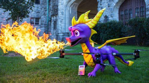 Activision faz drone de Spyro para encontrar Snoop Dogg(?)