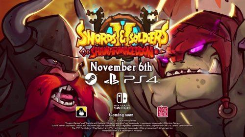 Swords and Soldiers 2: Shawarmageddon chega em novembro ao PS4