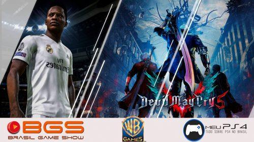[Convite] Meu PS4 e WB Games em atividades especiais na BGS 2018