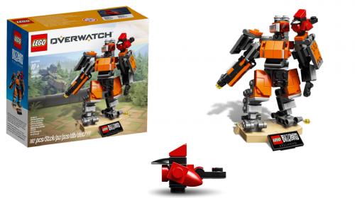 De Surpresa! LEGO lança set de Overwatch com Bastion; saiba mais