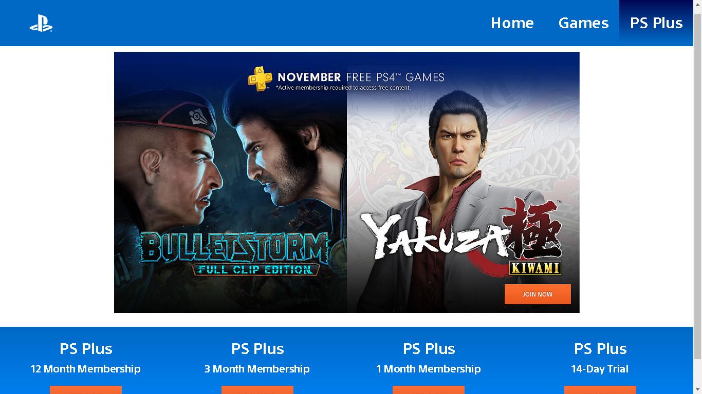 Mas já?! Página da Sony revela PS Plus de novembro de 2018; confira 1