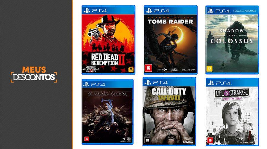 Descontão da Semana: confira os melhores preços em jogos de PS4